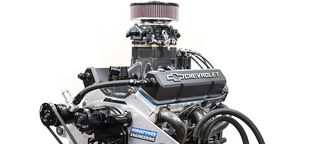 424ci small-block Chev mill by Horsepower Engineering