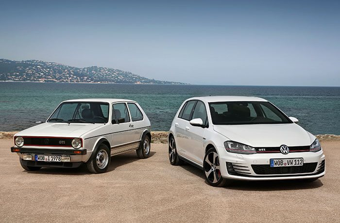45 facts to celebrate the VW Golf's 45th birthday