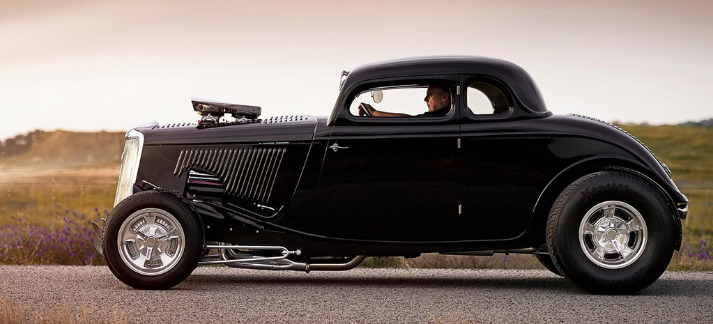 Blown Hemi-powered 1934 Ford five-window