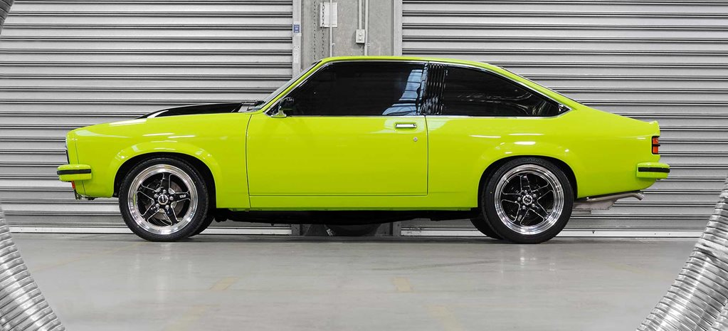 Elite home-built Holden LX Torana hatch
