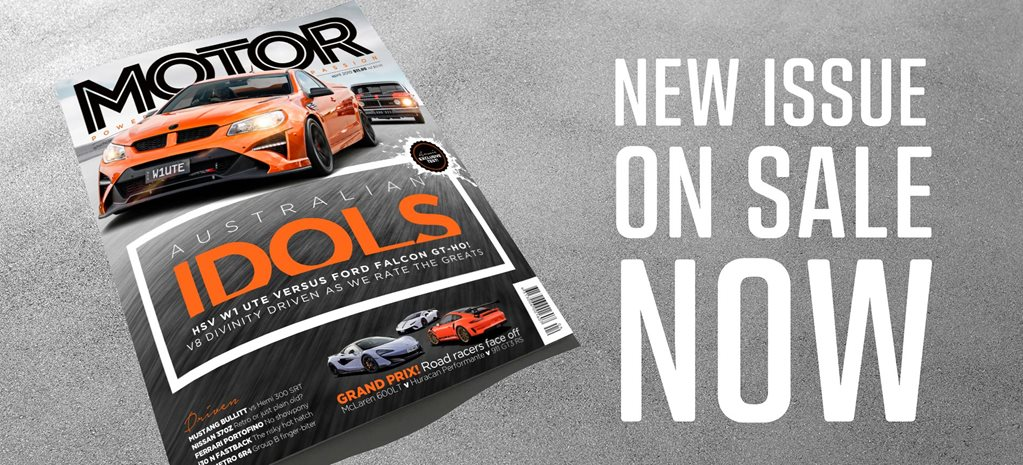 MOTOR Magazine April 2019 issue preview feature