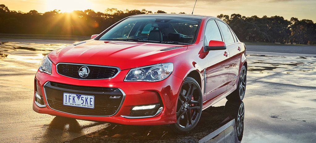 Nine Holden VF Commodore V8s yet to be sold