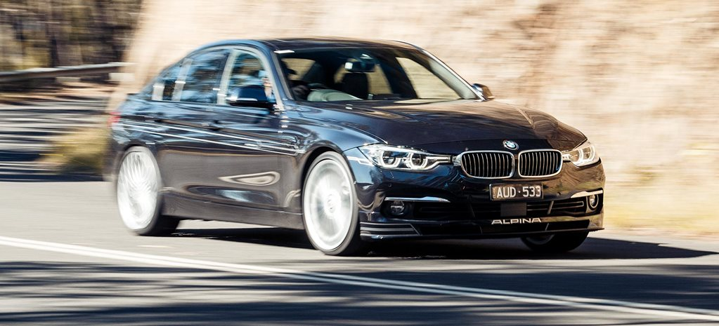 2018 Alpina B3 S price drop feature