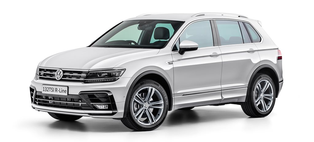 Volkswagen releases entry level Tiguan R-Line