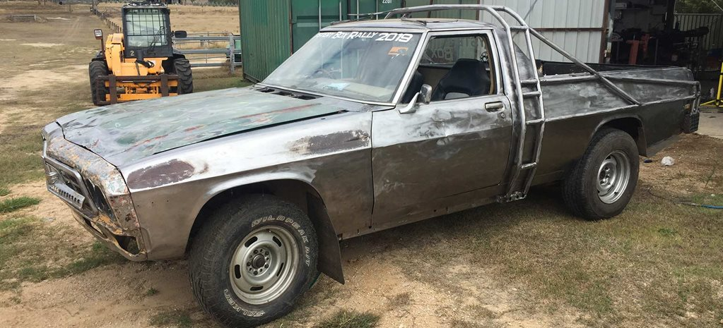 Mad Max-style HQ ute to compete at the 2019 Mystery Box Rally