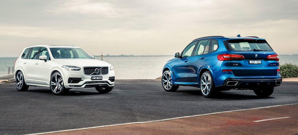 Volvo Xc90 D5 R Design Vs Bmw X5 Xdrive30d Comparison Review