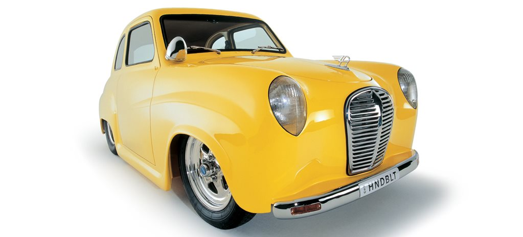 600hp rotary-powered 1953 Austin A30 - flashback