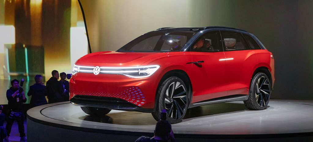 VW ID Roomzz unveiled in Shanghai