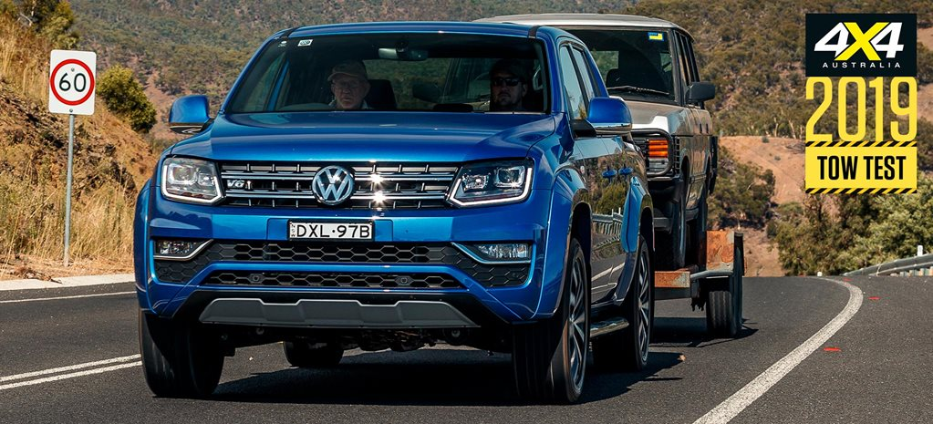 2019 Volkswagen Amarok 580 load and tow test review feature