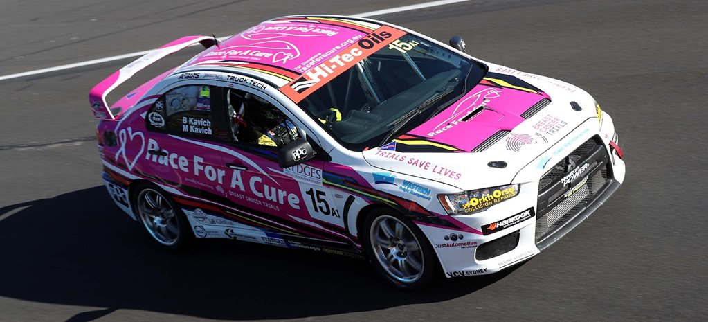 Bathurst team Race for a Cure supports breast cancer research news