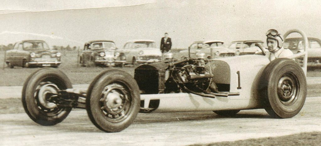 Legendary drag racer Greg Goddard