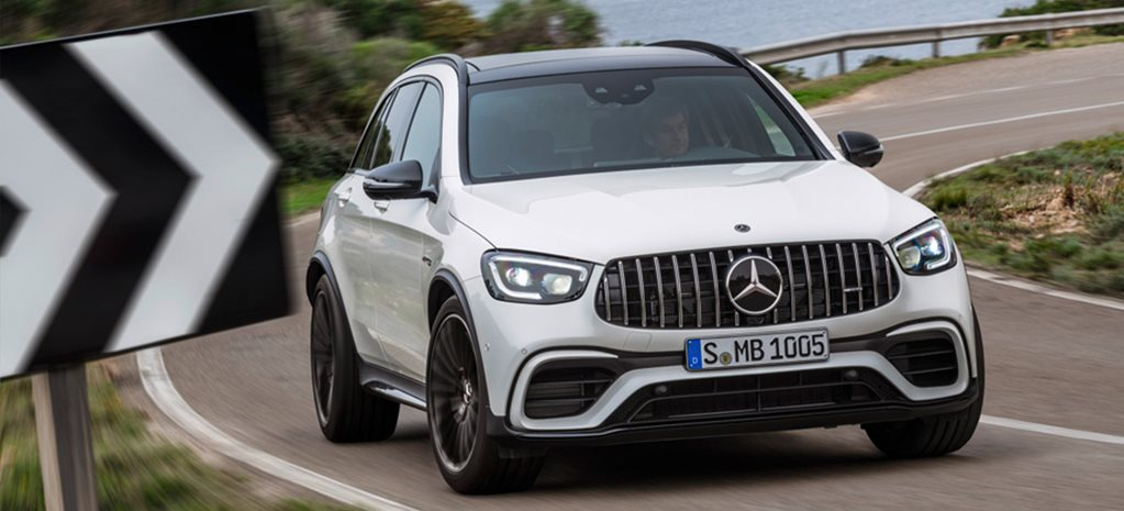 Mercedes-AMG GLC 63 gets a new face for 2020