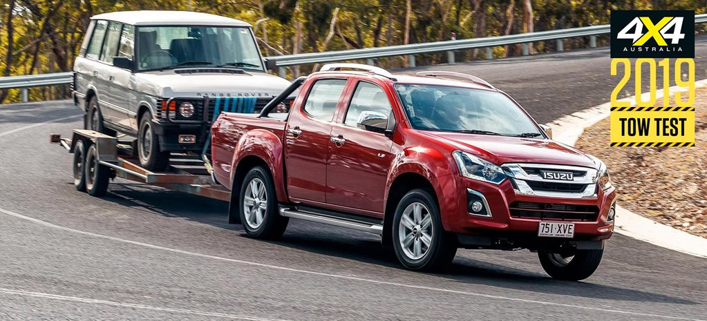 2019 Isuzu D-Max load and tow test review feature