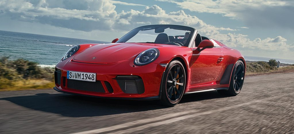 2019 Porsche 911 Speedster debut NYIAS news