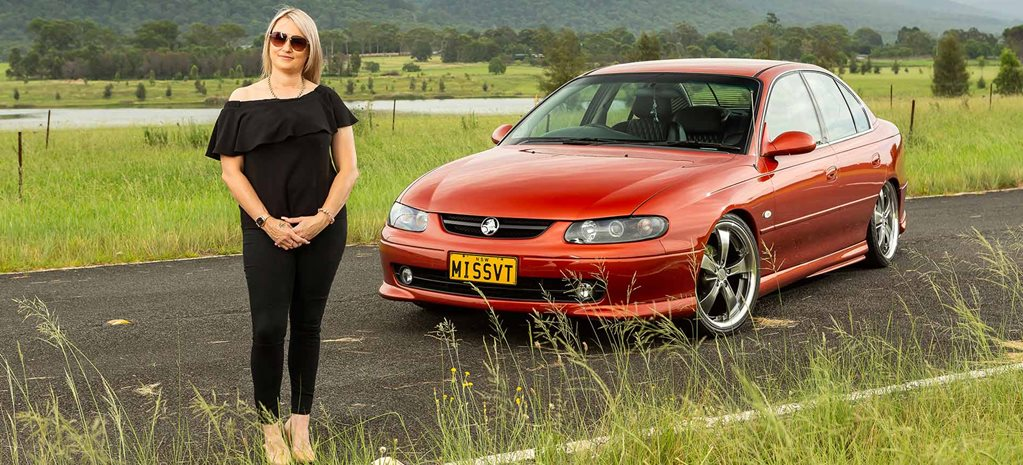 Athena Hilton's supercharged Holden VT Commodore