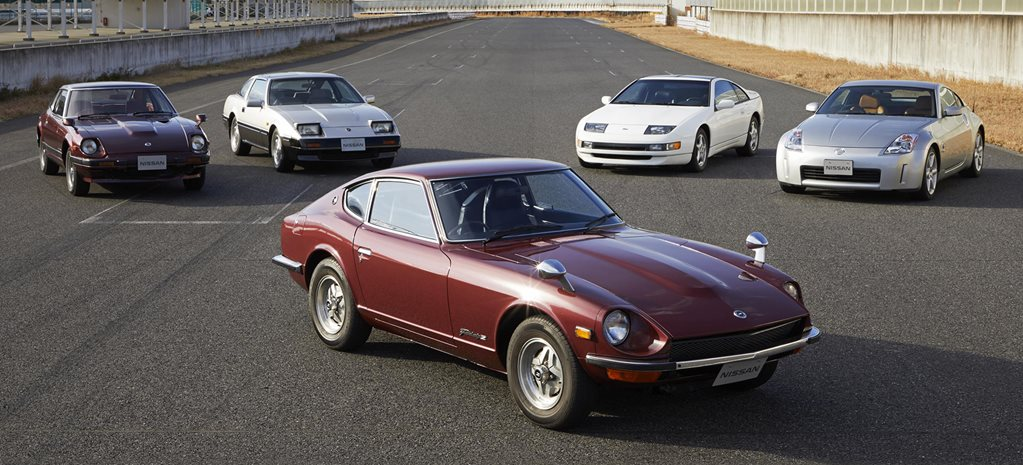50 years of Z gallery: a look back at Nissan's sports car heritage