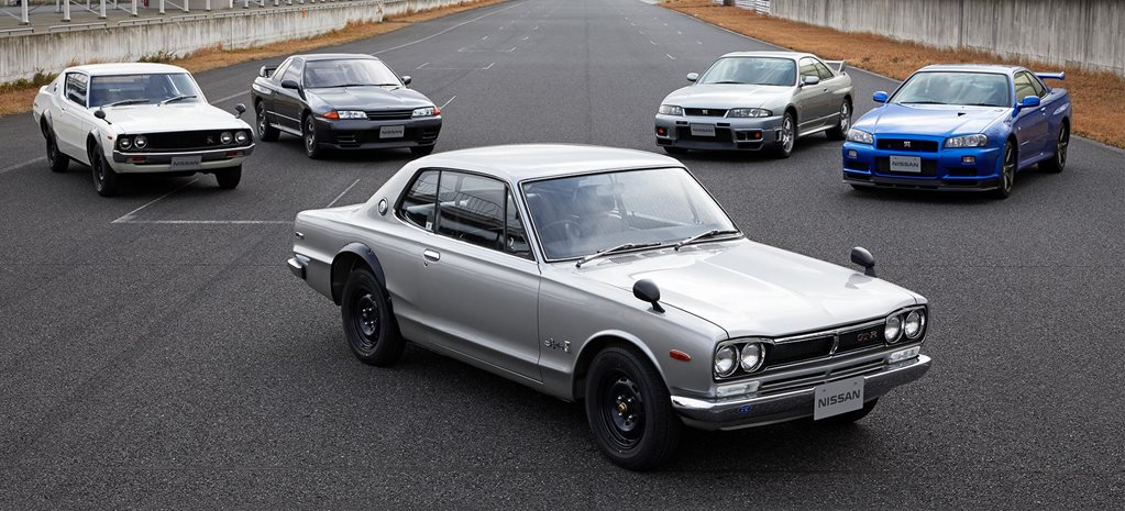 50 Years Nissan Skyline GT-R Gallery feature