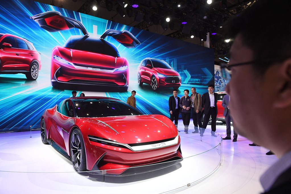 BYD E-Seed: China's electric supercar