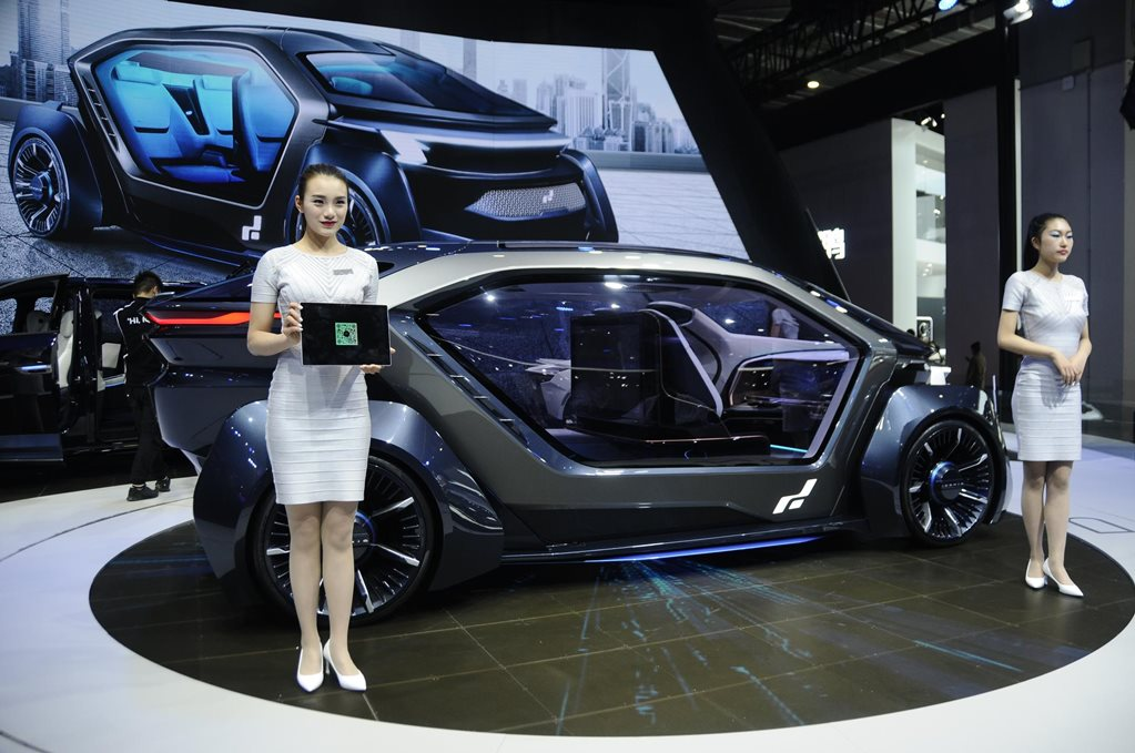 Shanghai Motor Show gallery: The Weird, the Wonderful and everything in between
