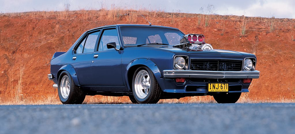 Supercharged Holden 355-cube 1974 LH Torana - flashback