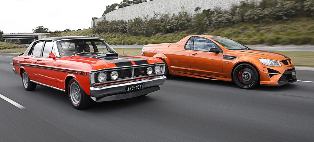 2018 HSV Maloo W1 vs 1971 Ford Falcon XY GT-HO Phase III comparison feature