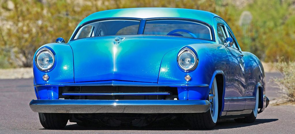 Chopped custom 1951 Kaiser Dragon