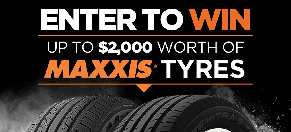 Win $2k worth of Maxxis tyres