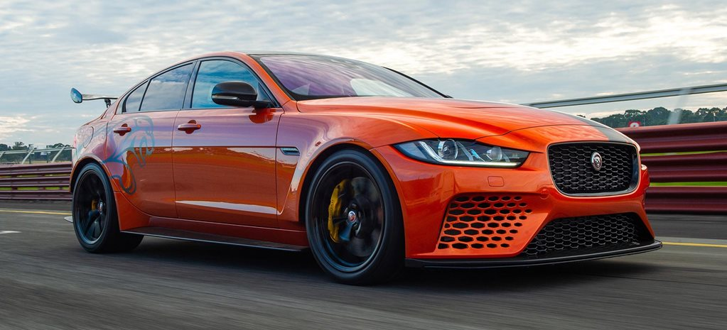 2019 Jaguar XE SV Project 8 performance feature