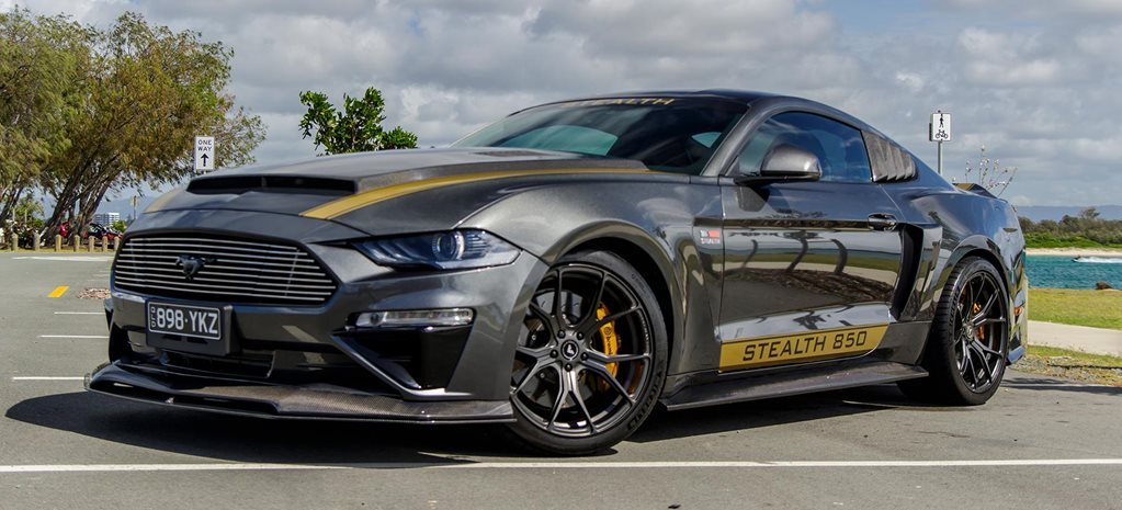 620kW carbon-fibre Custom 2019 Ford Mustang Stealth news