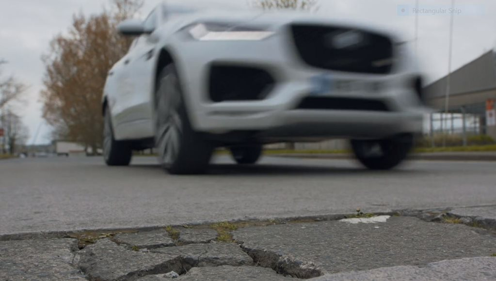 Spot a pothole? Jaguar Land Rover will pay you for it