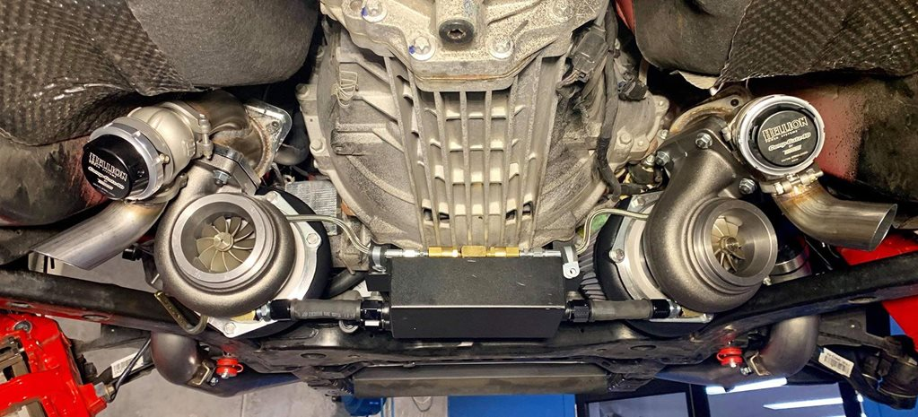 Herrod Performance twin-turbo kit Ford Mustang GT news
