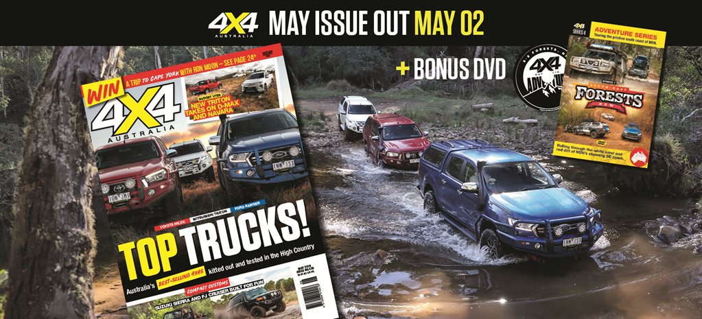 4X4 Australia magazine May 2019 news