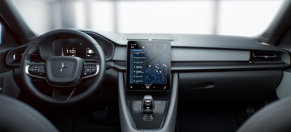 Android Automotive inside the Polestar 2 EV