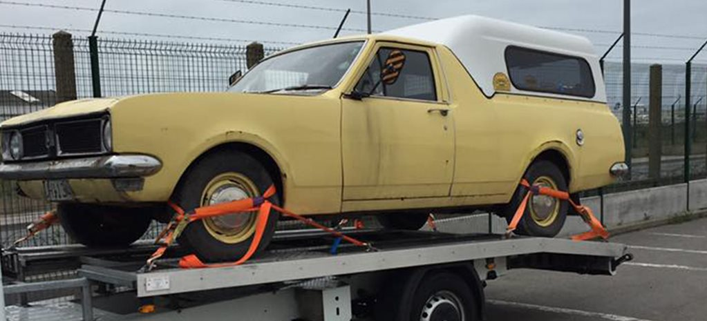 Seized Holden HG ute returned to owner by French authorities