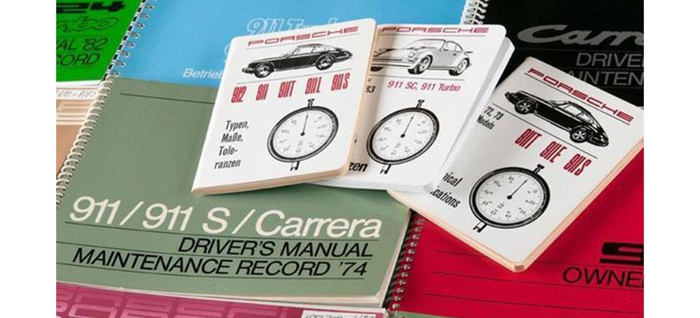 Save the manuals! Porsche reissues owner manuals for every model
