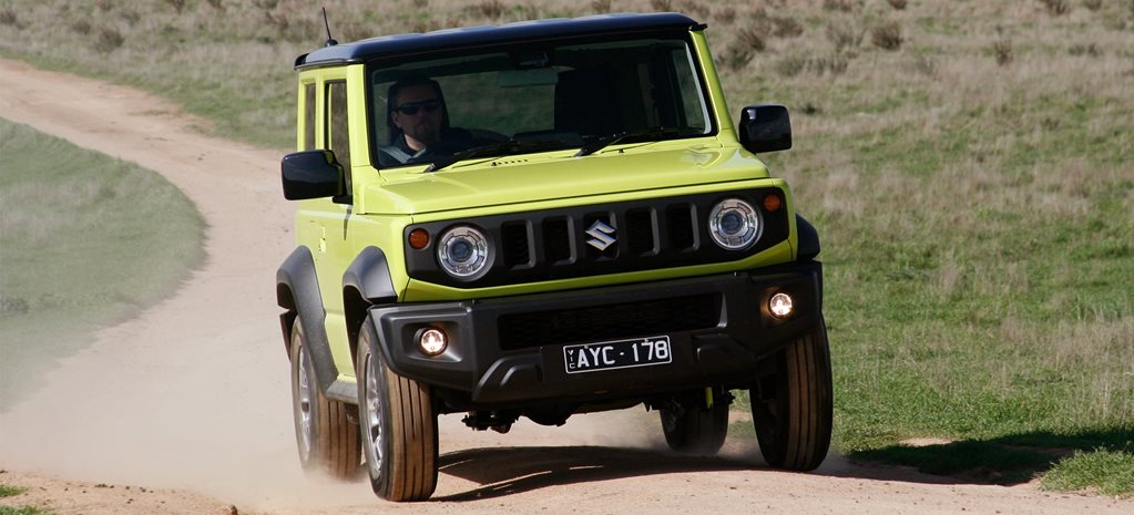 2019 Suzuki Jimny automatic 4x4 review feature