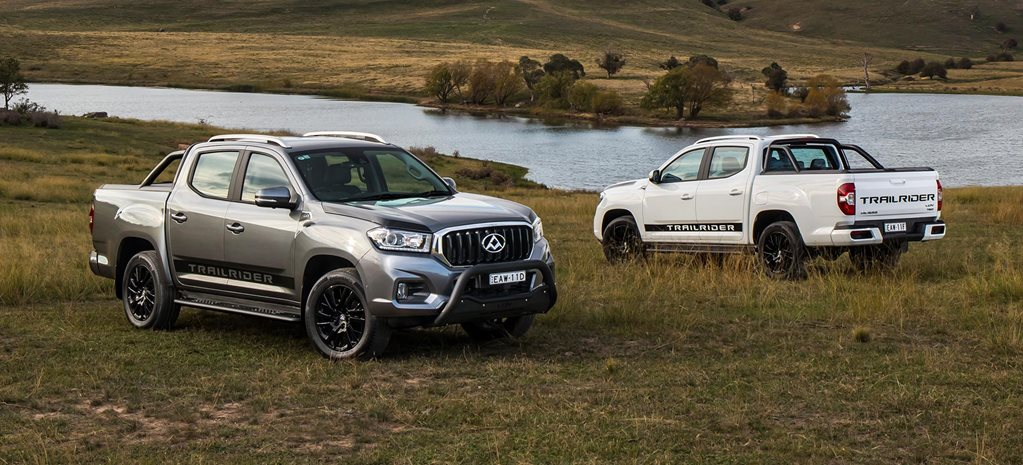 2019 LDV Trailrider launches with Walkinshaw tuning