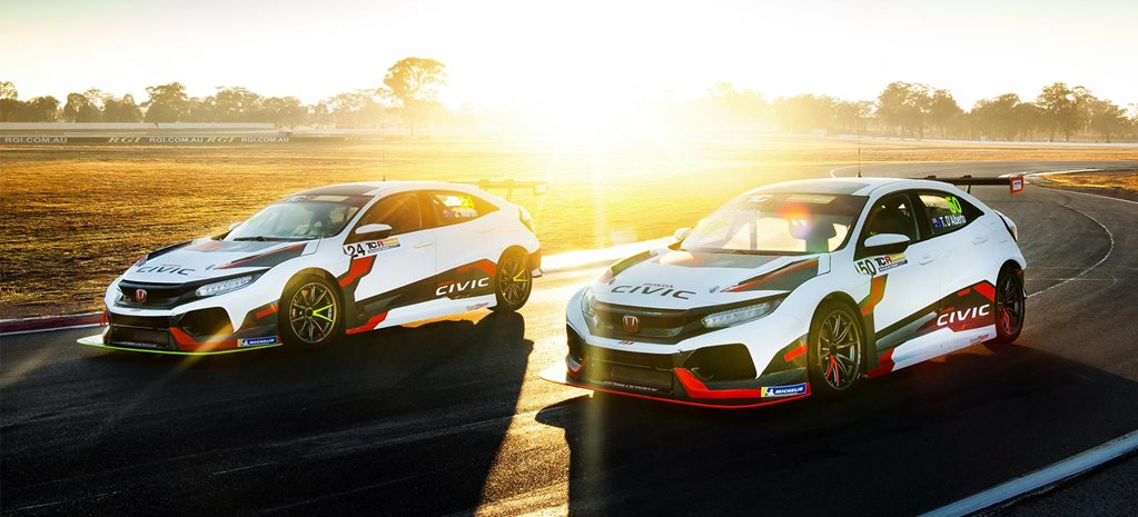 Honda Australia enters TCR Australia Series Wall Racing news