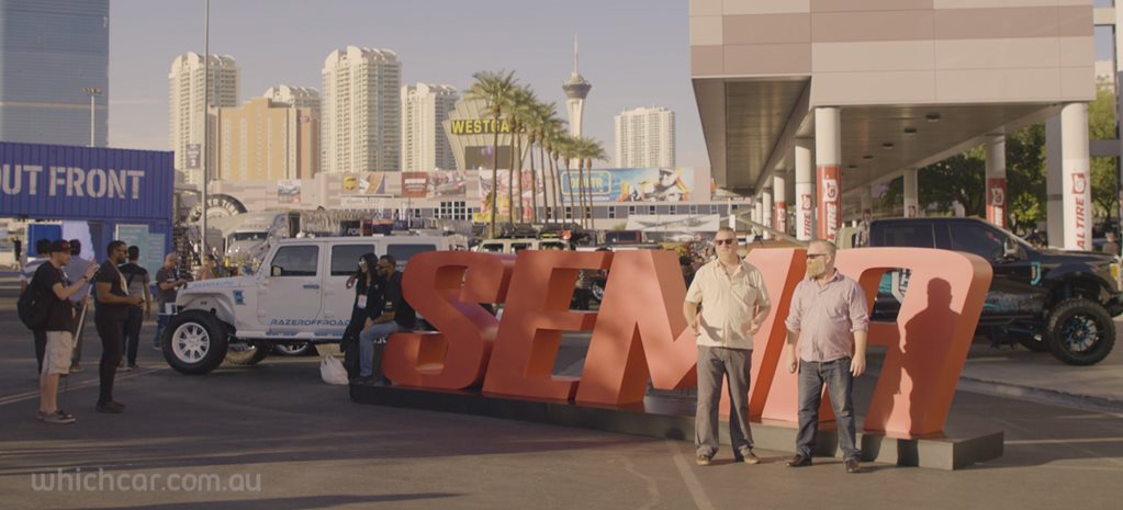On the ground at SEMA 2019
