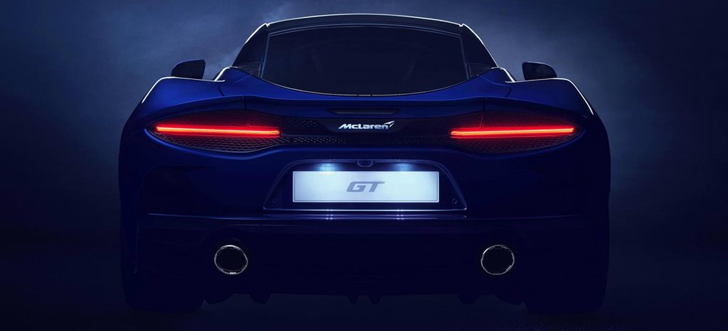 McLaren GT officially teased news