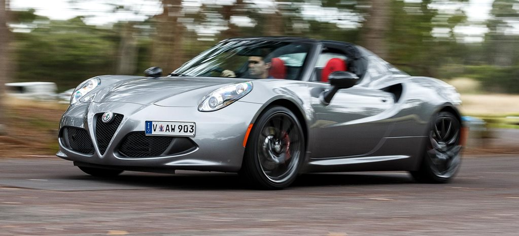 2019 Alfa Romeo 4C Spider performance review feature