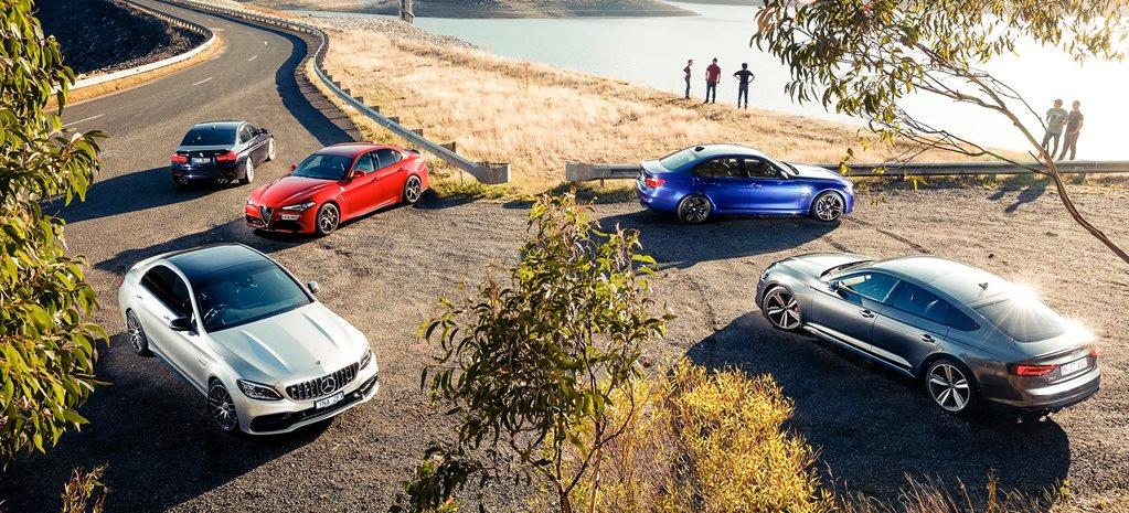2019 Mercedes-AMG C63 S vs Audi RS5 Sportback vs BMW M3 Pure