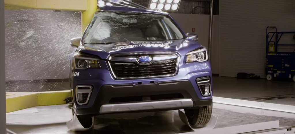 We crash test a 2019 Subaru Forester with ANCAP