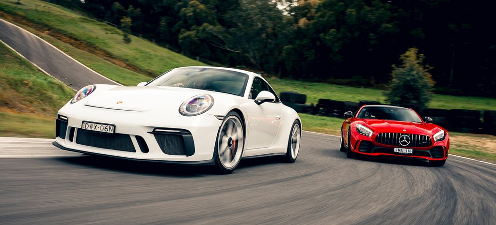 Mercedes-AMG GTR vs Porsche 911 GT3 comparison feature