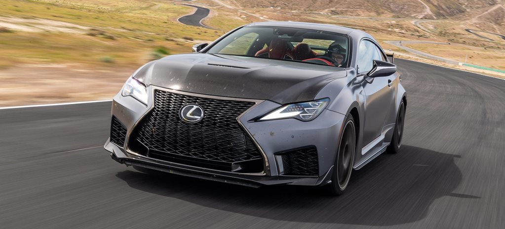 2019 Lexus RC F Track Edition drive review