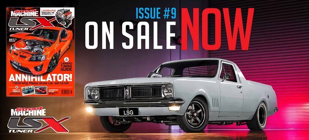 LSX Tuner #9 on sale now!