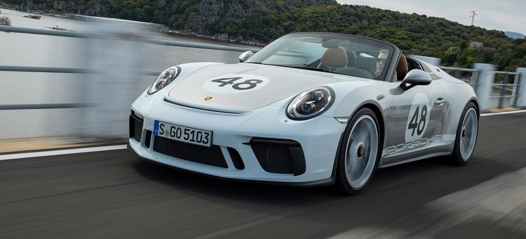 Porsche 911 Speedster 2019 Review