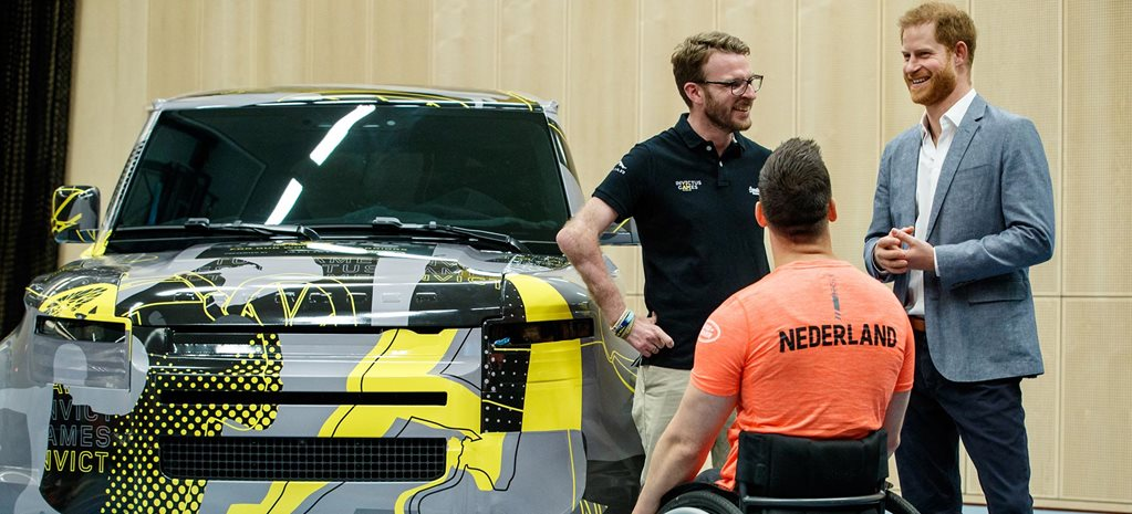 2020 Land Rover Defender Invictus Games livery news