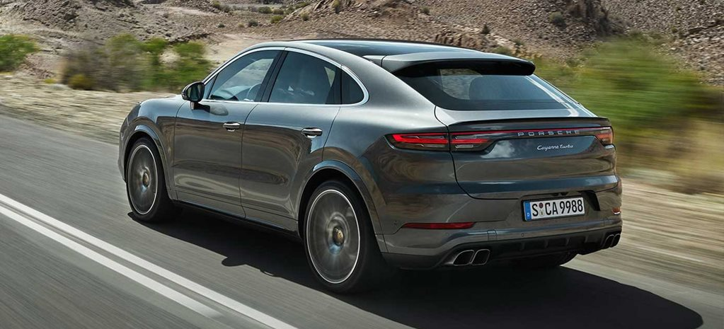 Porsche Cayenne S Coupe pricing and specification