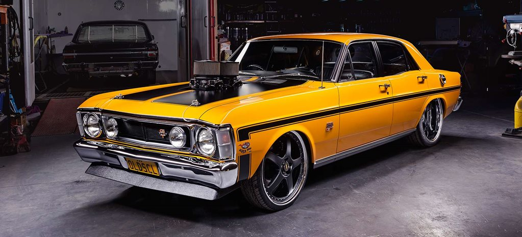 Big-block 1970 Ford XW Falcon - OLDSCL